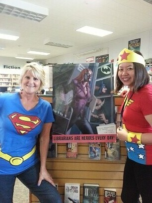 librarians are super heros every day