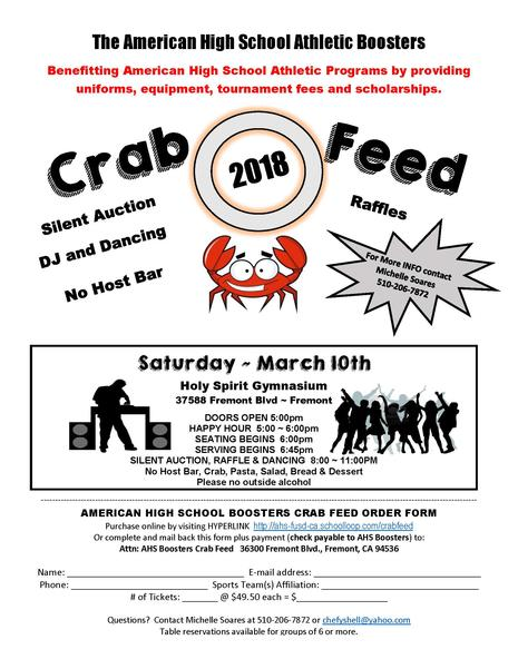 CRAB FEED 2018